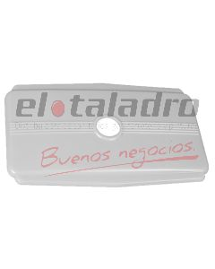 SOBRETAPA P/DEPOSITO PALANQUITA PLASTICA BLANCA