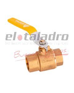 LLAVE GAS P/TOTAL 4 BAR 1/2''
