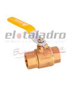 LLAVE GAS P/TOTAL 4 BAR 1 1/2''
