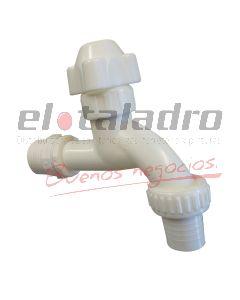 CANILLA 3/4  PVC P/M S/REPUESTO