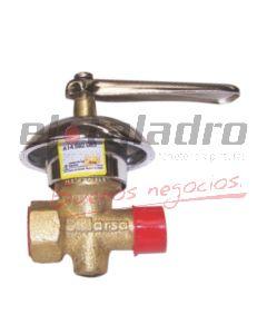 LLAVE GAS 1/2 C/CAMPANA