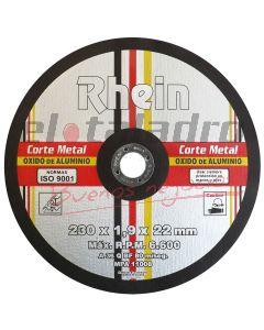 DISCO PLANO OX/AL CORTE 16  x 3,2