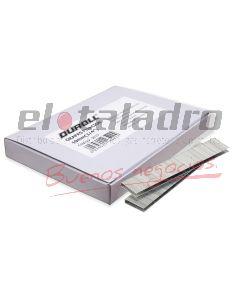 GRAPA LISA P/CLAVADORA/ENGRAPADORA 12.8x12mm x 500 unid.