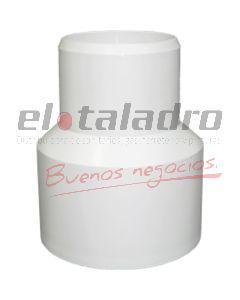 CUPLA RED.PVC 50 X 40 PT