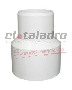 CUPLA RED.PVC 60 X 40 PT