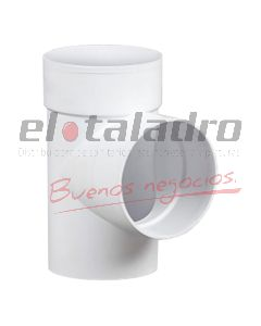 RAMAL PVC 50 A 90 (TEE)