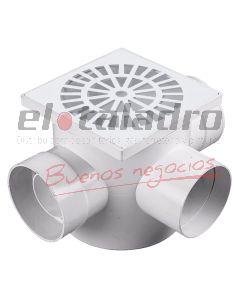 PILETA C/SIFON PVC 20x20 3,2 3 BOCAS