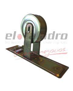ENROLLADOR CORTINA REF. DOBLE ZINC AMARILLO 4mts
