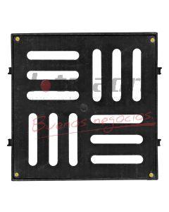REJILLA DE PISO PVC 20 X 20 C/M (T/FUNDIC)