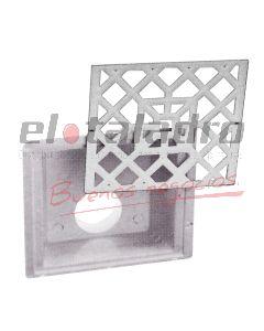 EMBUDO FRONTAL PVC 100