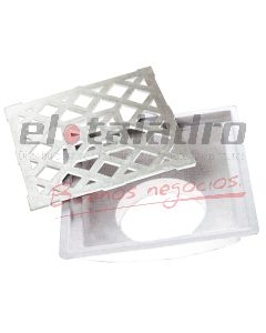 EMBUDO VERTICAL PVC 100