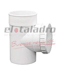 CAÑO CAMARA PVC 100