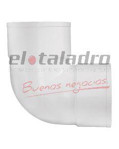 CODO PVC 60 HH 90º PT