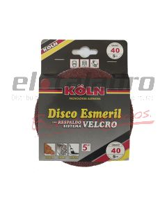 DISCO C/VELCRO 5  GR 40