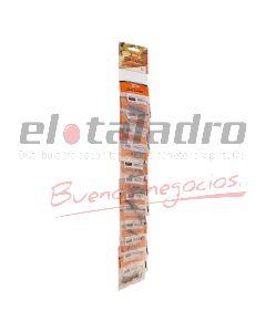 TIRA IMP. SURTIDO CLAVOS COMUN 12 MOD.