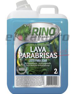 RINO LAVAPARABRISAS LISTO P/USAR 2 Lts.
