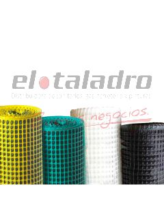 CERRAMIENTO PLASTICO 10x10mm x1,2Mt BLANCO (ROLLO x25mts)