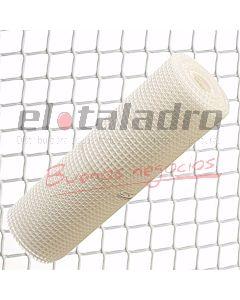 CERRAMIENTO PLASTICO 20x20mm x1,2Mt BLANCO (ROLLO x25mts)