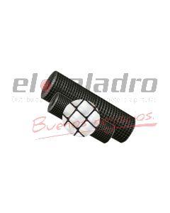 MALLA PLASTICA ROMBOIDAL 9x9mm x1,2Mt NEGRO (50)
