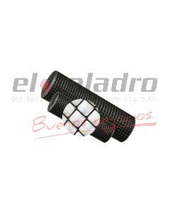 MALLA PLASTICA ROMBOIDAL 20x20mm x1,2Mt NEGRO (50)
