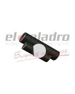 MALLA PLASTICA CUADRADA 15x15mm x1,00Mt BLANCA (25)