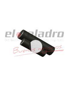 MALLA PLASTICA CUADRADA 20x20mm x1,00Mt VERDE (25)