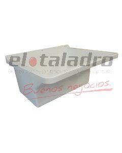 PILETA LAVAR 47x57x32 C/F PPP. BCA.