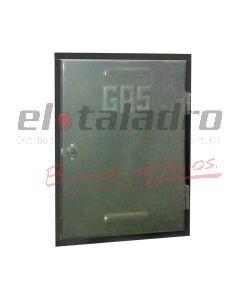 PUERTA CHAPA P/GAS REGLAMENARIA 65x45