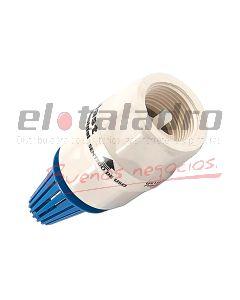 VALVULA RETENCION PVC. 1 1/4