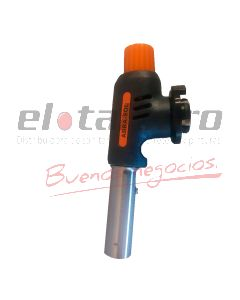 SOPLETE P/CARTUCHO GAS BUTANO C/ENCENDIDO PROFESIONAL