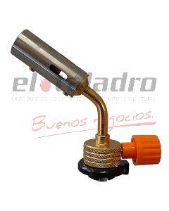 SOPLETE P/CARTUCHO GAS BUTANO PLOMERO BRONCEADO