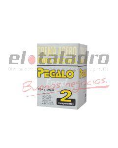 CREMA ACERO PARA BACHAS x 200 gr. PEGAMENTO 2 COMPONENTES EPOXI