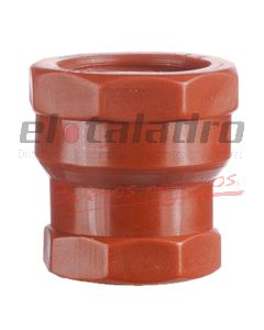 CUPLA RED. PPP 3/4 X 1/2