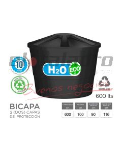 TANQUE H2O CONICO APILABLE 600 Lts. BI-CAPA
