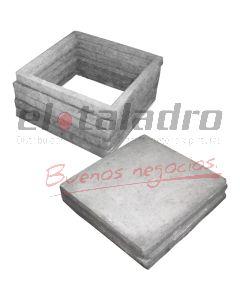 MARCO Y TAPA 40 x 40 HC