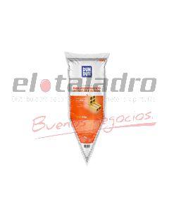 DUNDUN MEZCLA P/COLOCACIÓN DE LADRILLOS Y BLOQUES SACHETS DE 3kg.