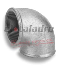 GALVANIZADOS CODO H-H 90º