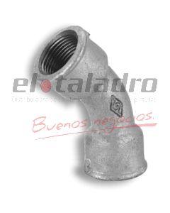GALVANIZADOS CURVA H-H 45º