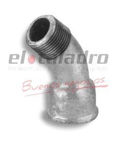 GALVANIZADOS CURVA M-H 45º