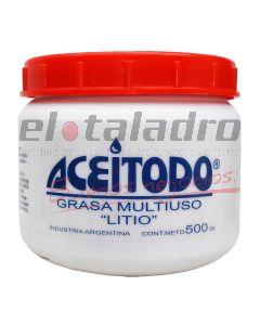 GRASA LITIO MULTIUSO x 500grs ACEITEX