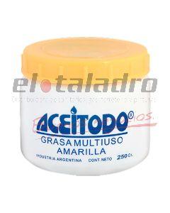 GRASA AMARILLA MULTIUSO x 250grs ACEITEX
