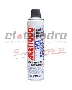 AEROSOL LUBRICANTE MULTIUSO x 400 cc ACEITODO