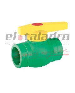 LFUSION VALVULA PPR FUSION ESFERA PLASTICA
