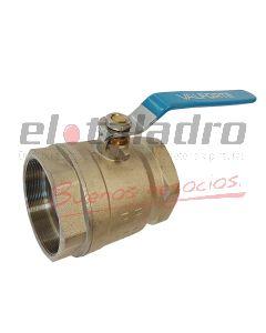 VALVULA ESFERICA METALICA 1.1/4 RF-100