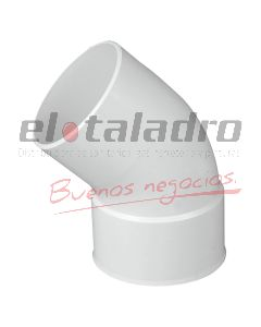 CURVA PVC 160 A 45 3,2