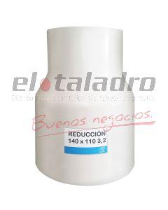 CUPLA RED.MANUAL PVC 140 x 110 3,2
