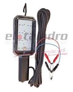 PORTATIL LED 12V 10mts. C/PINZA