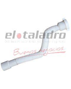 CONEXION  EXTENSIBLE 40/50mm AJUSTABLE P/SOPAPA 50 mm
