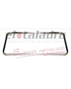 ARO ALUMINIO P/PILETA DOBLE 56x37 MM56