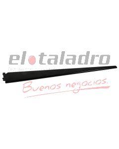 MENSULA DOBLE NEGRA EPOXI P/ESTANTE 47cm. (12)